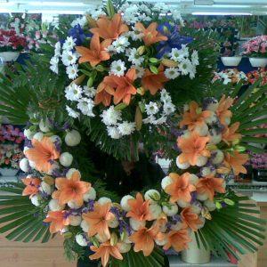 Coronas y flores funebres