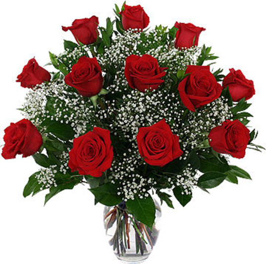 ramo de 12 rosas rojas para envia en Granada