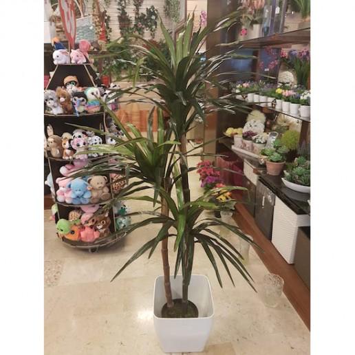 planta artificial dracena marginata 3 hijos