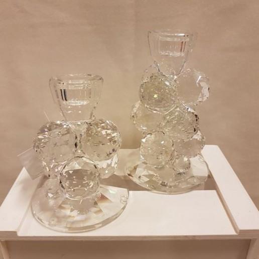 candelabros de cristal de Murano
