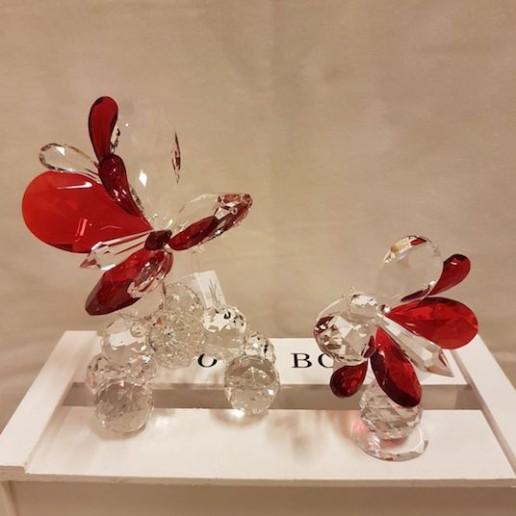 Mariposas de cristal de Murano