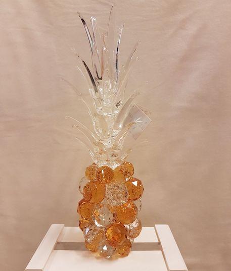 Piña de cristal de Murano