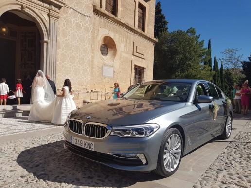 servicio chofer alquiler coche bodas granada