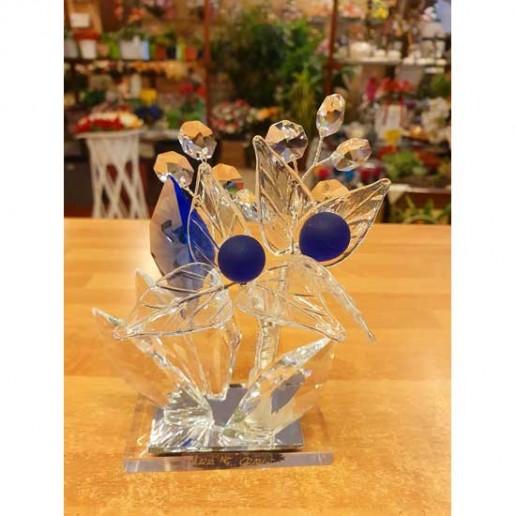 bonsai cristal azul