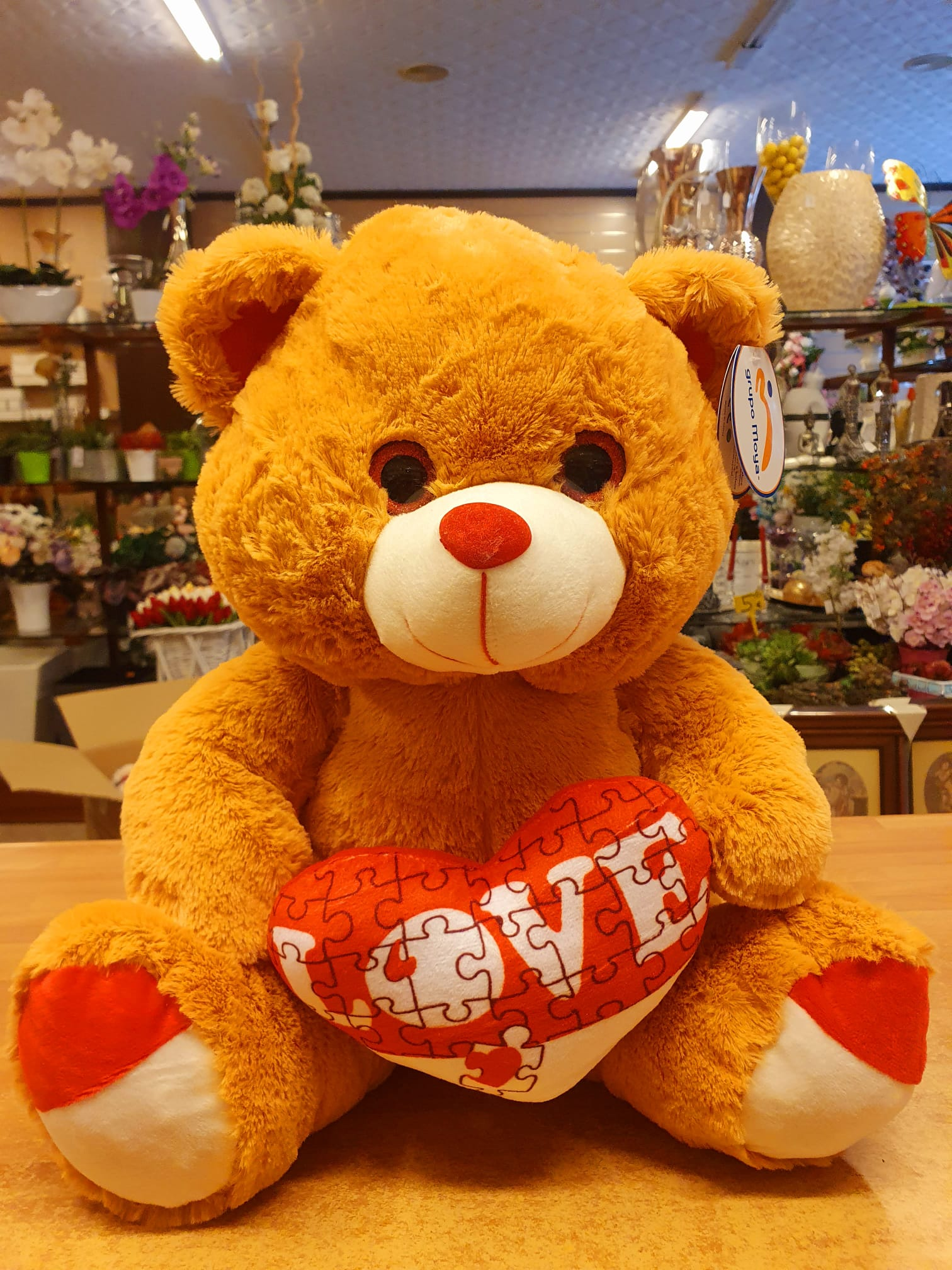 oso peluche love enviar a domicilio en granada