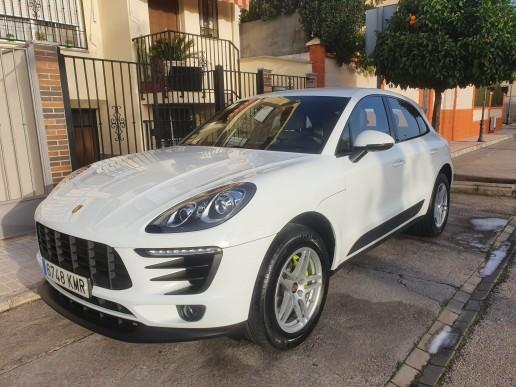 Porsche Macan alquiler de chofer para bodas en Granada